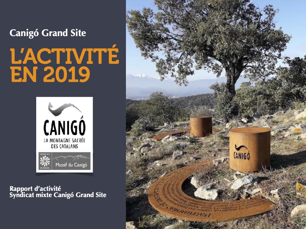 Rapport d'activité 2019 du Syndicat mixte Canigó Grand Site