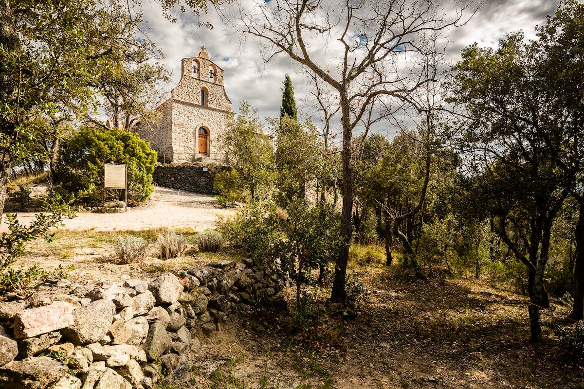 Prieuré de Sant Jaume de Calaons sur la commune de Catllar / JC MILHET