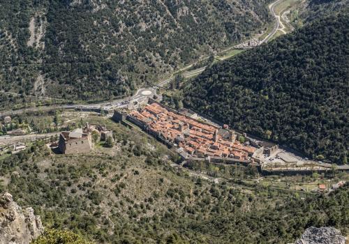 Confluence des vallées de la Tet et du Cady à Villefranche de Conflent / Michel CASTILLO-CD66