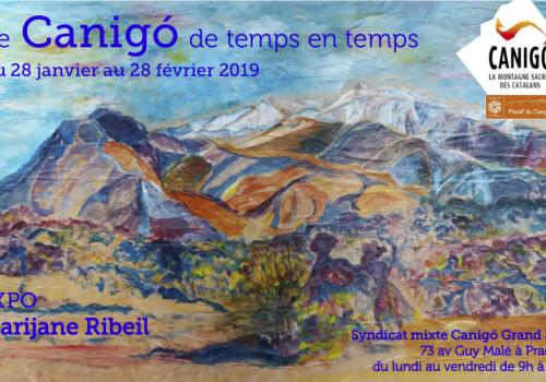 Exposition Le Canigó de temps en temps / M. Ribeil