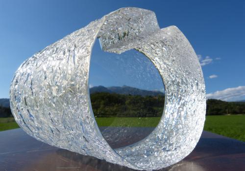 """""""Ecouter le monde"""" oeuvre de Bernard Dejongue, 2005 /SMCGS"""