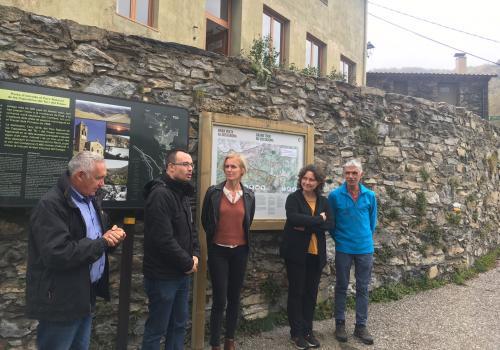 Inauguration du tour transfrontalier du Costabona / SMCGS