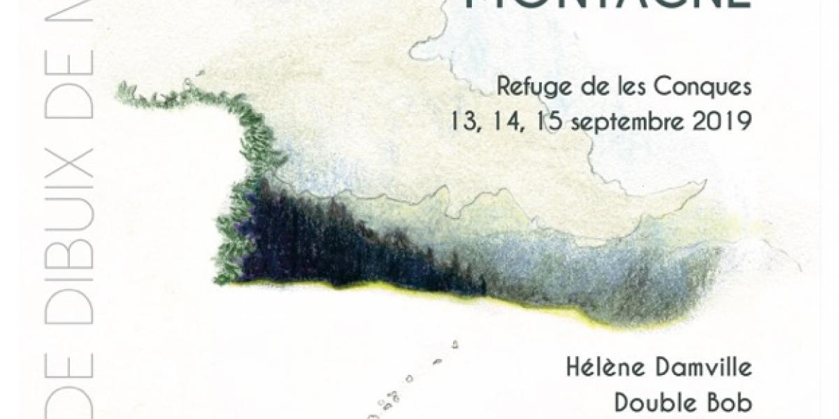 Affiche des rencontres 2019 - Dessin de Géraldine Stringer