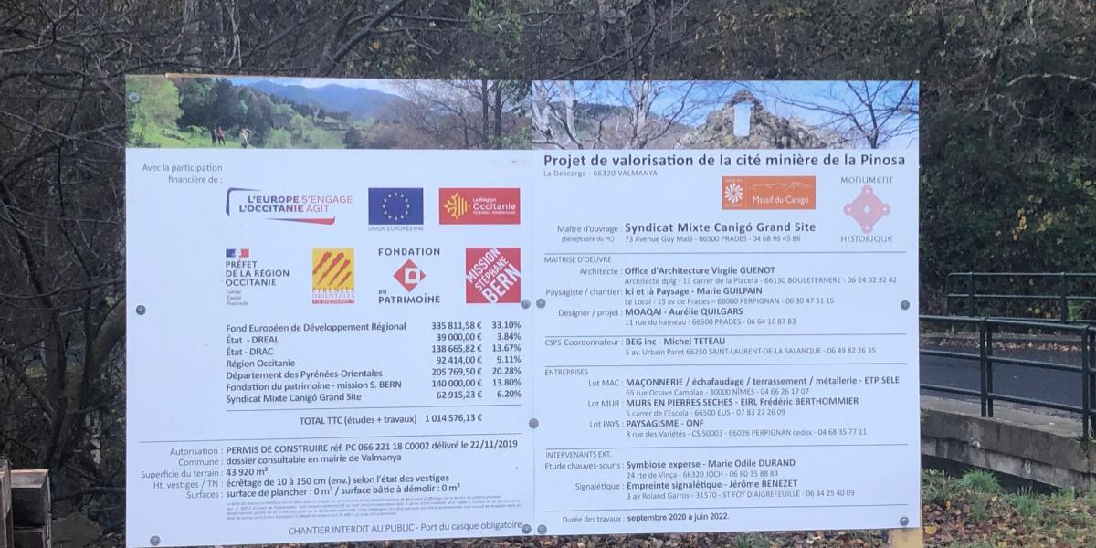 Un grand merci aux partenaires du projet / Canigó Grand Site