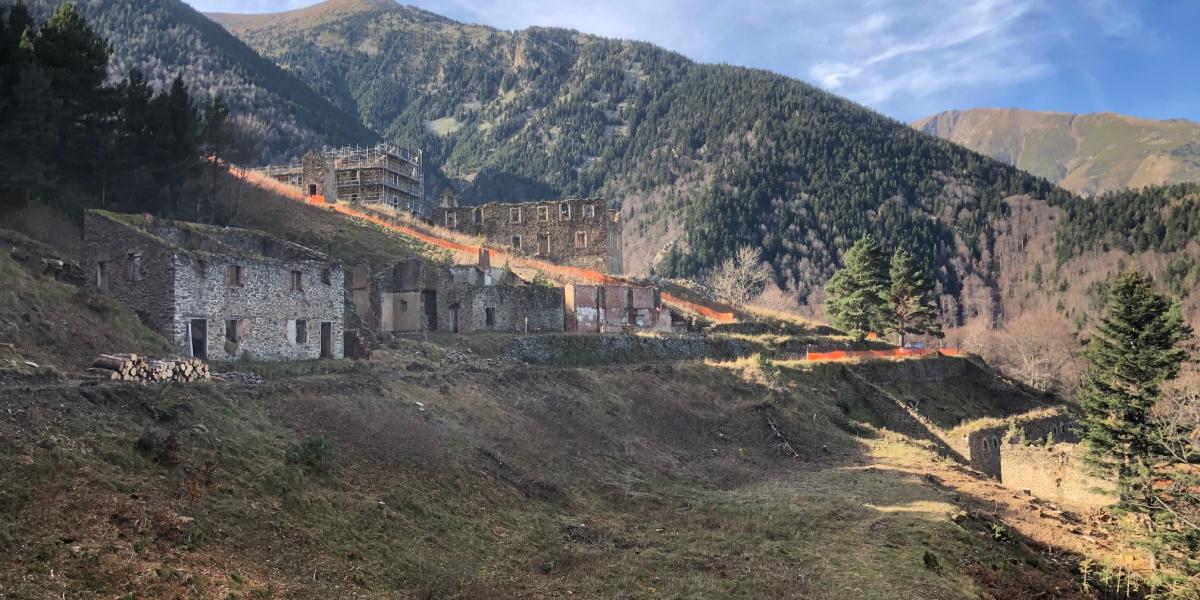 Des travaux dans un cadre exceptionnel / Canigó Grand Site