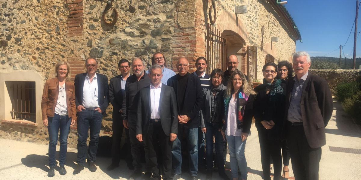 Installation du comité de destination à Rodès en avril 2016 / SMCGS