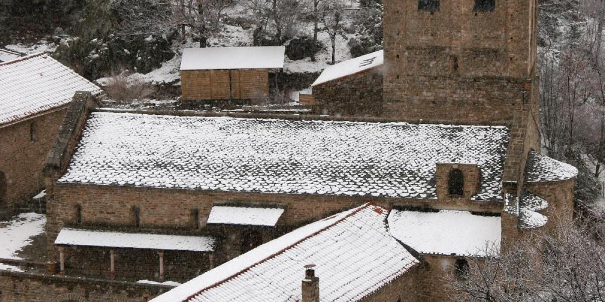 Abbaye de Saint Martin du Canigou / Michel CASTILLO-CD66
