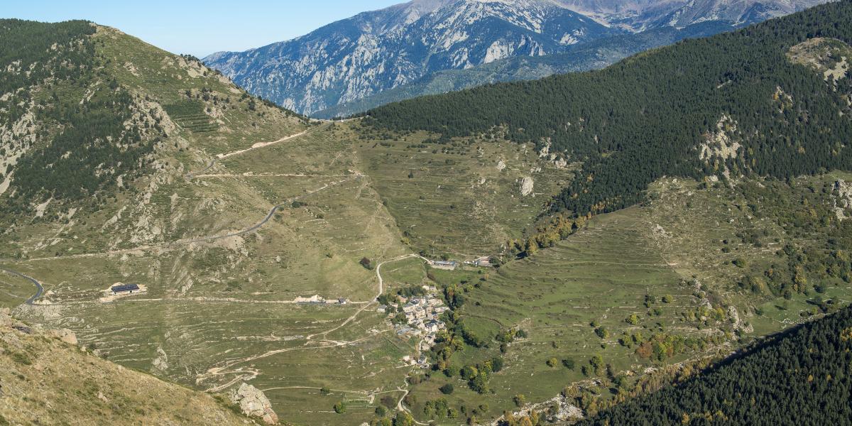 Mantet, dernier village de la vallée de la Rotjà  / Michel CASTILLO-CD66