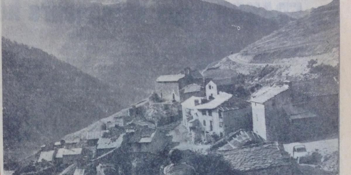 Article de presse évoquant le projet de station de ski à Mantet / Midi Libre, 11/01/1970. / ADPO