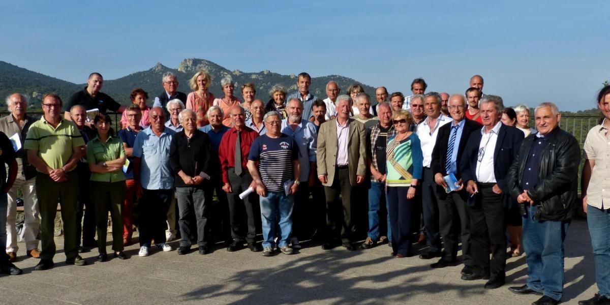Le comité syndical à Arboussols / SMCGS