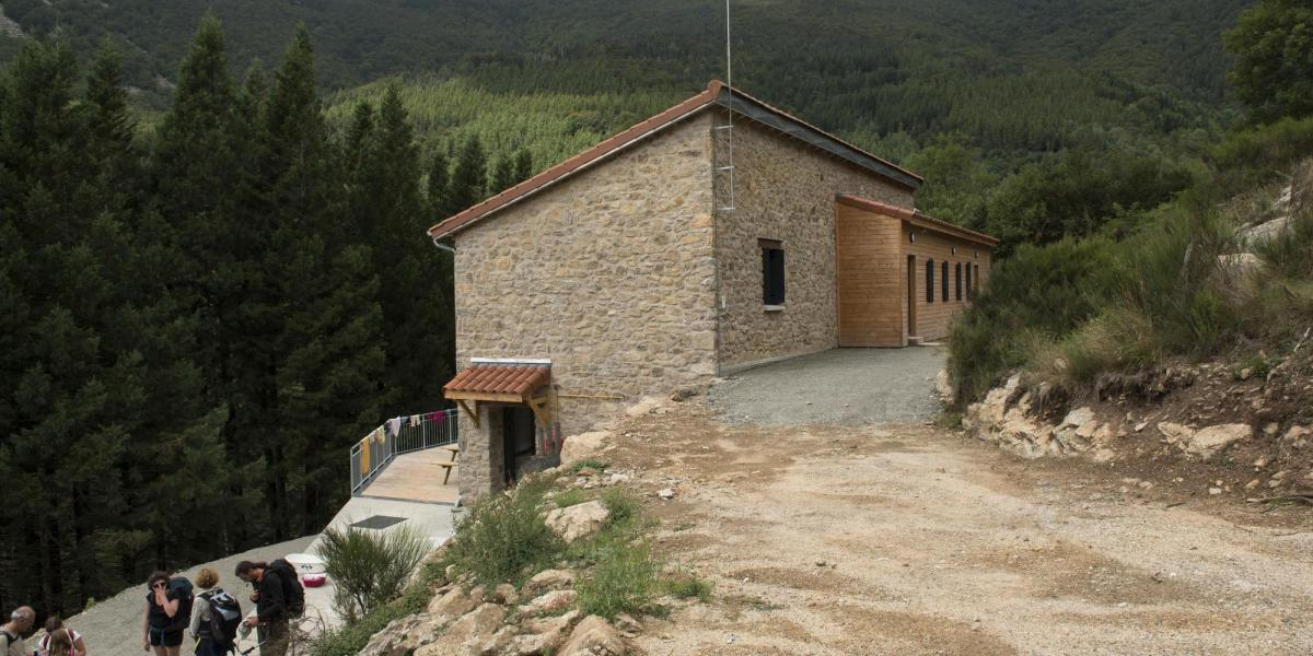 Refuge de Sant Guillem / Michel CASTILLO-CD66