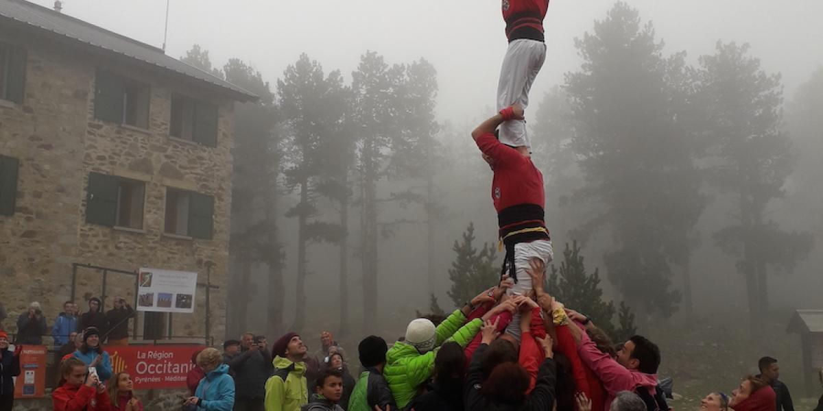 Castell devant les Cortalets à la Trobada 2019 / SMCGS