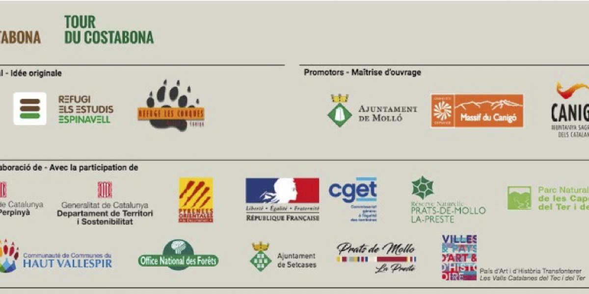 Les partenaires du Tour du Costabona