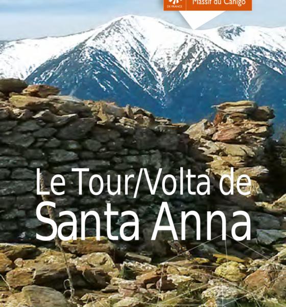 Dépliant du tour de Santa Anna / SMCGS