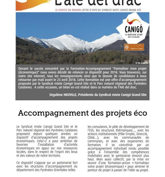 Newsletter L'Alè del drac / SMCGS