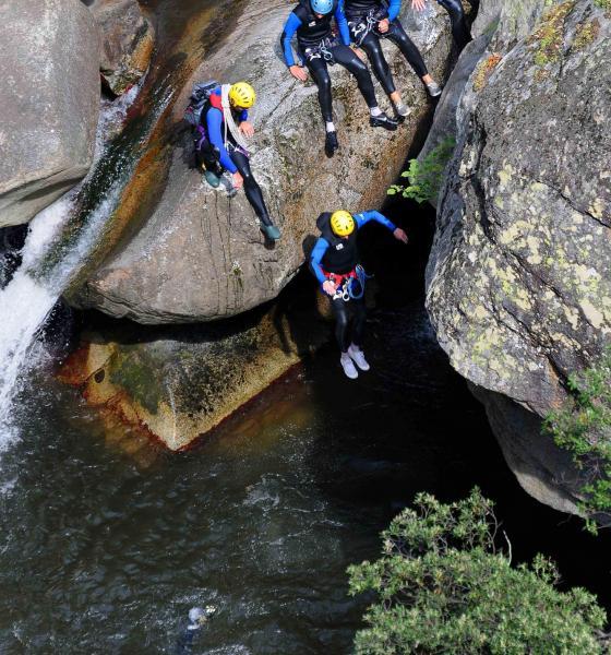 Canyoning à Molitg-les-bains / Michel CASTILLO - CD66