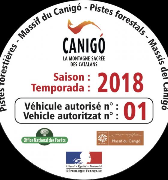 Autocollant identifiant les véhicules des compagnies de transport / SMCGS
